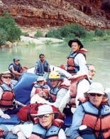 White water rafting on the Colorado with Alyson Adventures