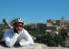 Cycling in Provence, France