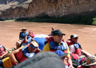 White water rafting on the Colorado
